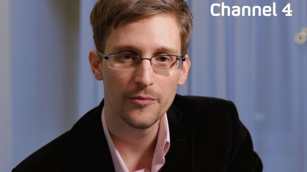 US intelligence leaker Edward Snowden preparing to make his television Christmas message on UK's Channel 4.