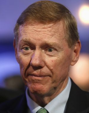Out of the running: Ford CEO Alan Mulally.