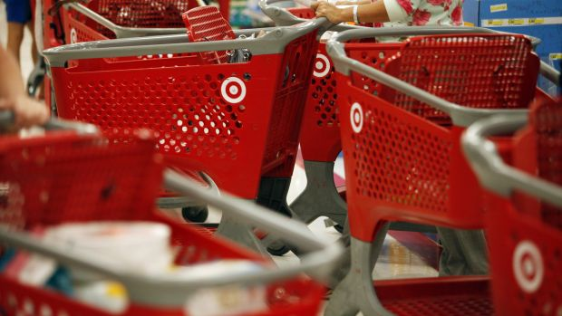 Basket case: Target have apologised to customers whose details have been stolen