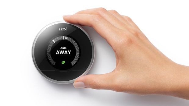 The Nest Labs thermostat.
