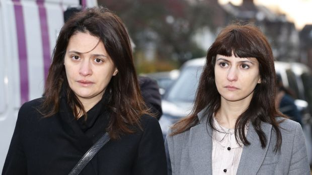Sisters Francesca (right) and Elisabetta Grillo, Lawson's two former assistants,  who were cleared of defrauding her and ...