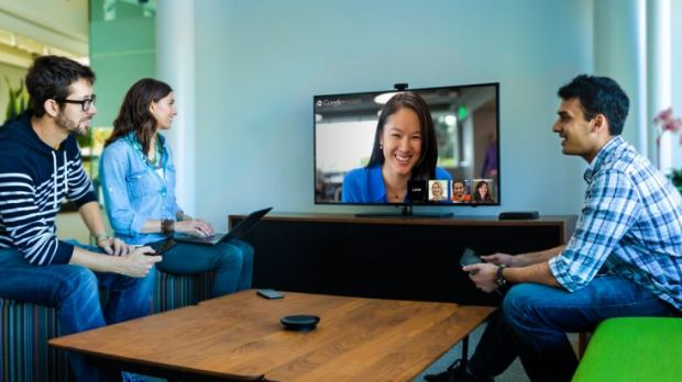 Google: Taking on Cisco and Polycom with video-conferencing technology.