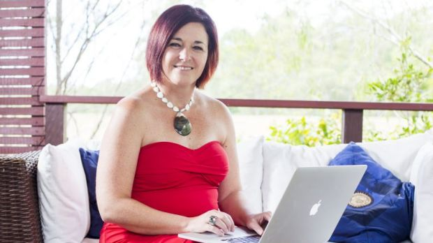 Queensland academic Dr Jenine Beekhuyzen, founder of the Tech Girls Movement..