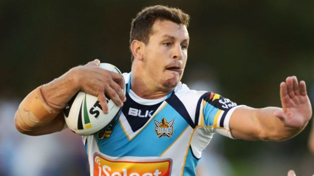 Injured: Titans co-captain Greg Bird suffered a knee injury at training.