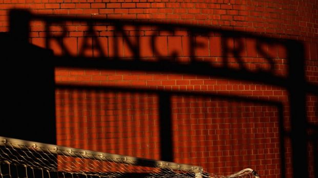 Fall from grace: Glasgow Rangers were once one the biggest clubs in Europe.