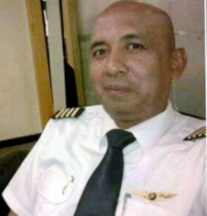 MH370 pilot Zaharie Ahmad Shah, in a photo posted to his community Facebook page.
