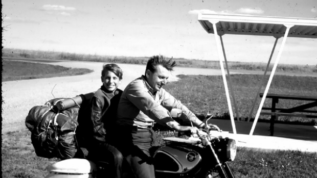Robert Pirsig (above with his son, Chris) wrote in Zen and the Art of Motorcycle Maintenance of the virtues of showing ...