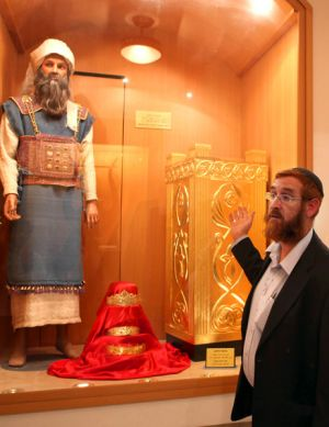 Yehuda Glick, director of the Temple Institute in Jerusalem, is preparing for the arrival of the Messiah.