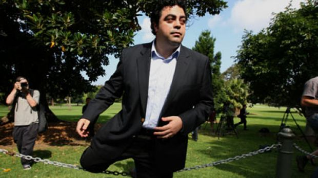 ''I didn't expect this at all.''  ... Joe Tripodi  behind the NSW Parliament yesterday after announcing his resignation.