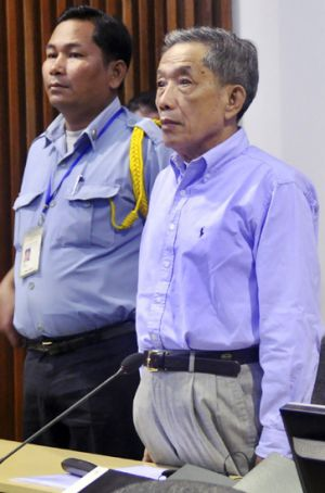 "Kaing Guek Eav, known as Duch, who ran the Khmer Rouge's ""S-21"" torture and interrogation centre."
