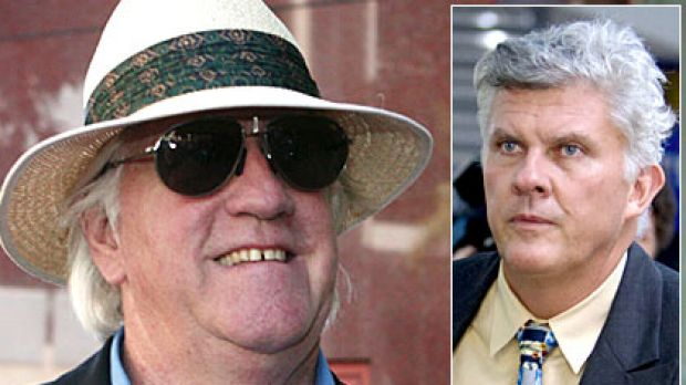 More links between property developer Warren Anderson (left) and Firepower boss Tim Johnston have emerged in court.