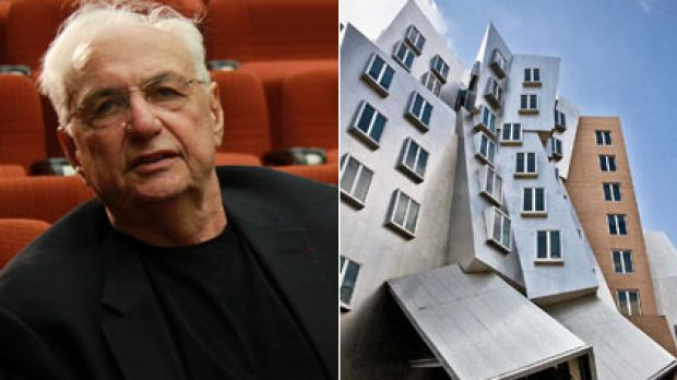 Shaping up ... the Ray and Maria Stata Centre at the Massachusetts Institute of Technology, above,  convinced UTS to ...