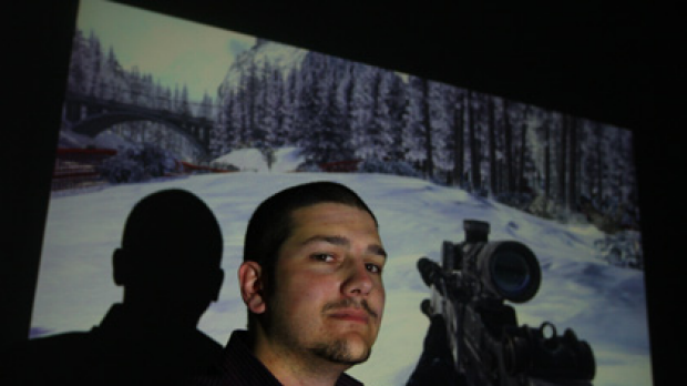 Booming industry... video gamer Kane Theodore says authorities fail to understand the market.
