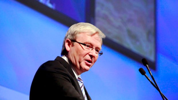Prime Minister Kevin Rudd's biggest challenge will be convincing an individualistic nation of the greater good in doing ...