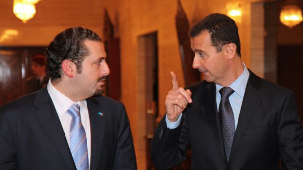 New era ... having blamed Syria for the assassination of his father in Beirut in 2005, the new Lebanese Prime Minister, ...