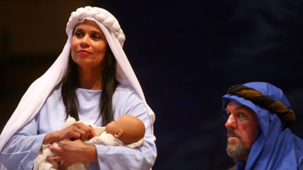 Mary and Jesus were ejected from their neighbourhood mothers' group, due to an unshakeable belief of exceptionalism.