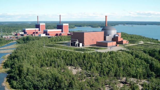 Finland's nuclear power plant at Olkiluoto has had a cost blowout of 50 per cent.