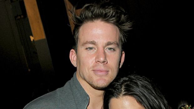 Back on top ... Channing Tatum and wife Jenna Dewan.