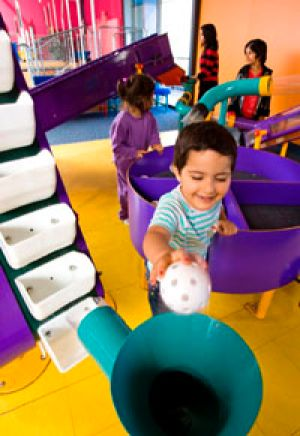 Scitech's educational benefits are often used by parents with young children during toddlers' weeks.
