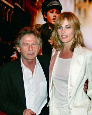 Roman Polanski and Emmanuelle Seigner