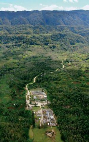 The Hides gas field and plant, belonging to US energy giant ExxonMobil Corp and partners north-west of Port Moresby in ...