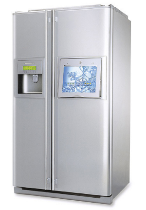LG Internet Fridge.