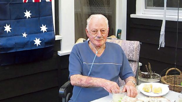 Bill Kellas at his Narbethong home.