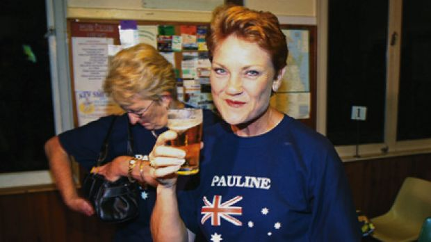 New horizons ... Pauline Hanson says  Australia is no longer the land of opportunity.  She is planning to move to ...