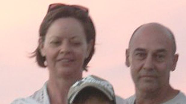 Young life lost ... Elliott Fletcher with his parents.