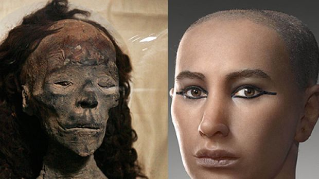 Revealed King Tut had girlish hips a club foot and buck