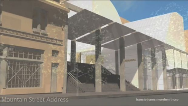 New look ... artist's impression of the redesigned St Barnabas.