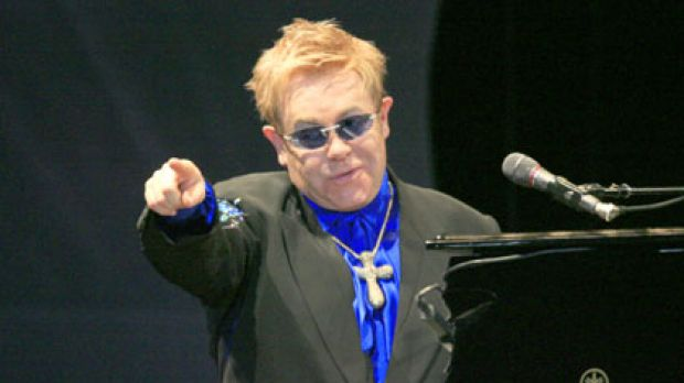 God botherer ... Elton John claims Jesus Christ was gay.