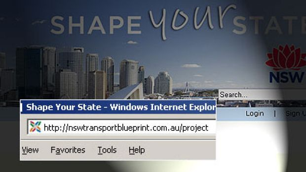 The government site they didn't want you to see ... all a reader had to do was type ...