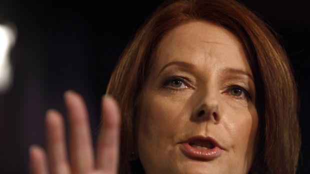 'I believe that you've got to have the doors open' ... the Education Minister, Julia Gillard, at the National Press Club ...