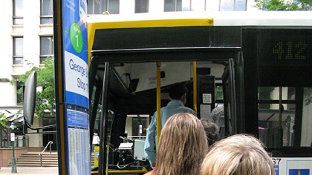Free ride ... Brisbane commuters are routinely evading pay bus fares by repeatedly touching off their Go Cards.