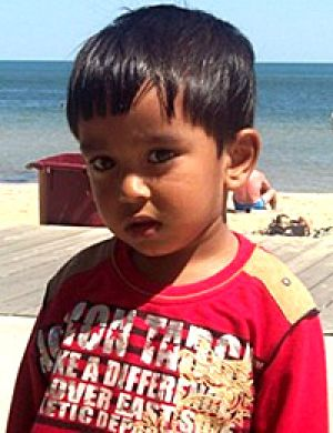 The boy missing from his home in Lalor.