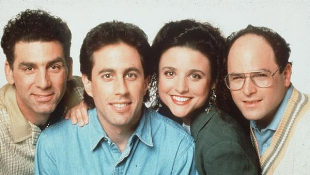 """Jerry Seinfeld and gang in """"Seinfeld"""""""