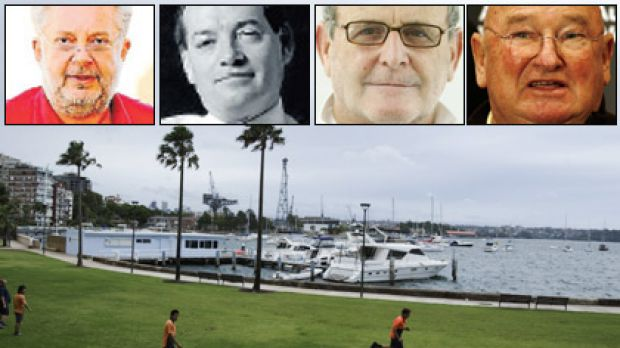 Game on ... Elizabeth Bay's sleepy  cove setting may soon house a bigger marina if development plans are approved. From ...