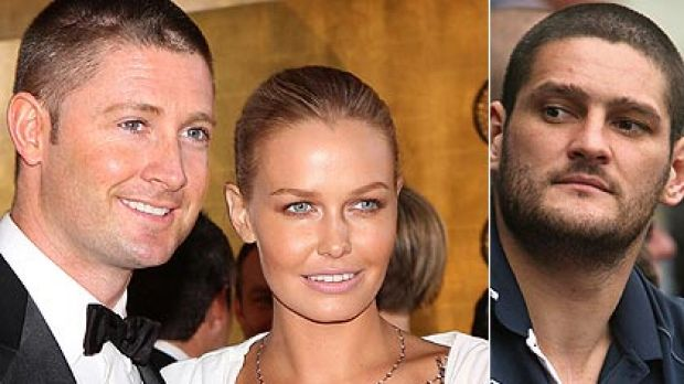 Brendan Fevola blamed for nude Lara