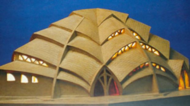 The Sternkirche model ... the similarities to the Opera House are remarkable and it may have unconsciously inspired ...