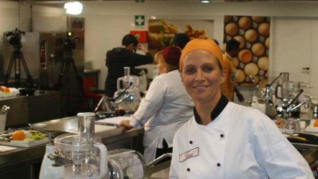 Toni Brancatisano from Melbourne wins an Italian realitycooking show.  .