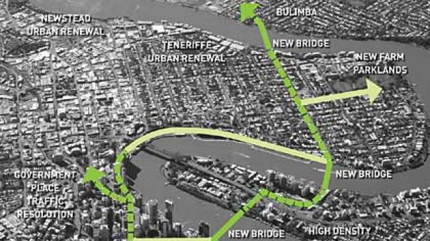 Crossing the river on foot may soon get a lot easier for Brisbane pedestrians.