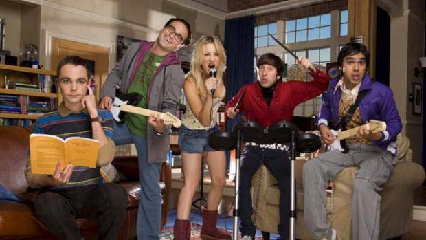 The cast of The Big Bang Theory.