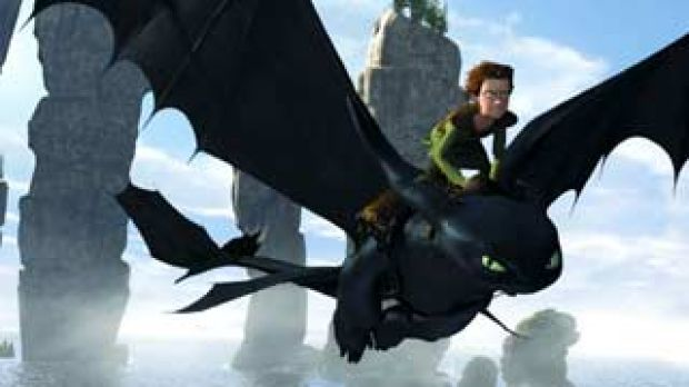 Flying scenes earned praise for How To Train Your Dragon.