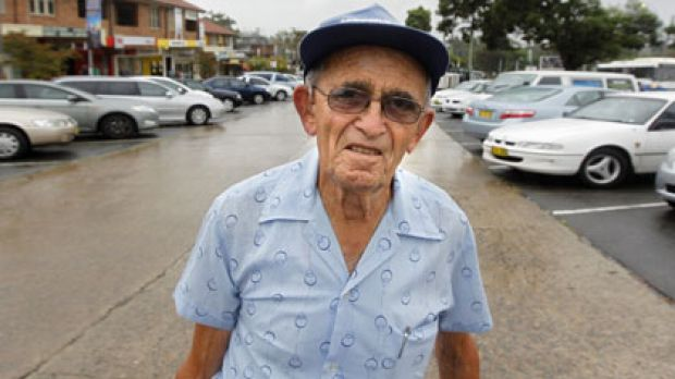 Roy Hanson stands in Ermington, the centre of population for Sydney, where he has lived for about 40 years. A centre of ...