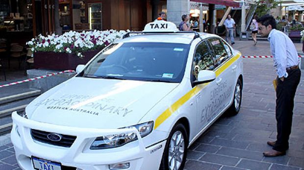 Experience ordinary ... the taxi that carries WA's tourism hopes suffered a flat battery at the launch of it's magical ...