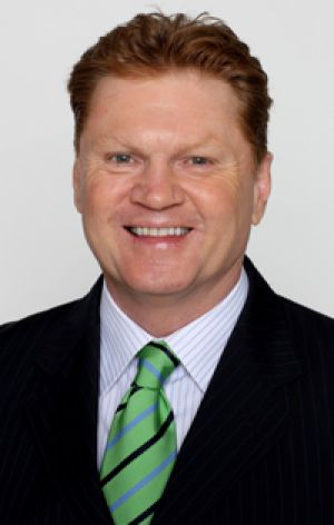 The Footy Show's Paul Vautin.