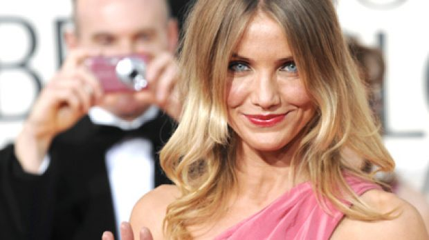 Stunner ... Cameron Diaz ages gracefully.