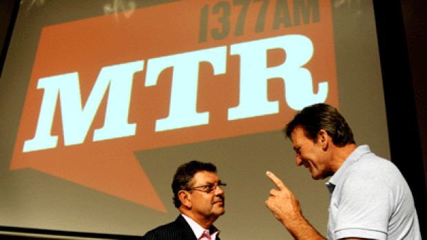 Unashamedly right-wing ... MTR's Steve Price and Sam Newman.