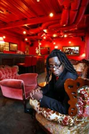 The owner of Red Violin bar, Otieno Makoochieng.